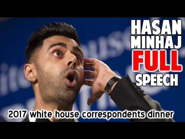 Hasan Minhaj at the 2017 White House Correspondents Dinner – Hasan Roast Trump WHCA Full Speech