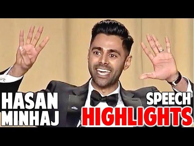 Hasan Minhaj Correspondents Dinner Funniest Speech Highlights HD