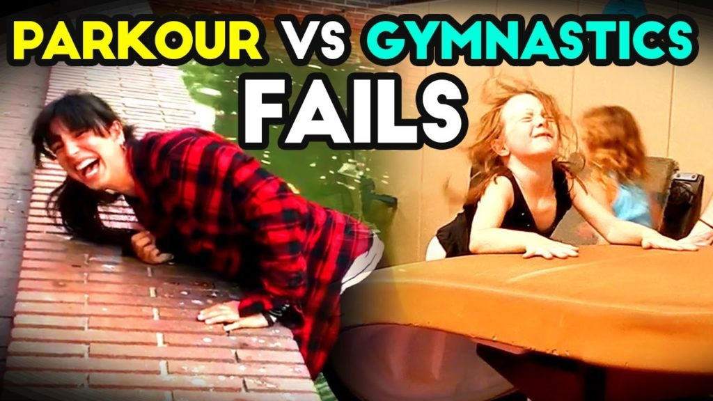PARKOUR VS GYMNASTICS | Funny Fails | Epic Fail Compilation | 2018