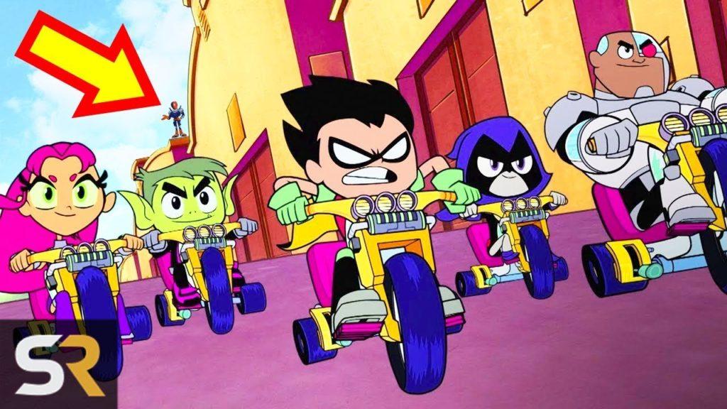 25 Hidden Secrets in Teen Titans Go! To The Movies