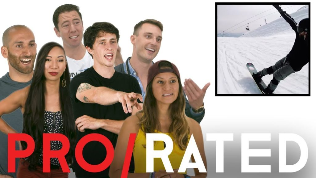Athletes React: Basketball, Snowboarding & More | Pro/Rated